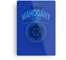 Mahogany Gym Metal Print