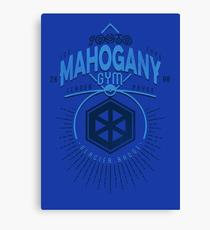 Mahogany Gym Canvas Print