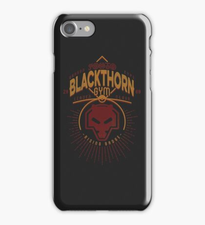 Blackthorn Gym iPhone Case/Skin
