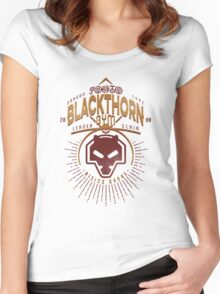 Blackthorn Gym Women's Fitted Scoop T-Shirt