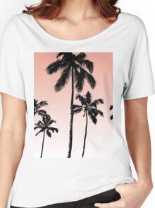 Sunset palms Women's Relaxed Fit T-Shirt