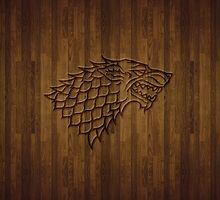 Wood wolf by qindesign
