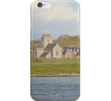 Iona Abbey from Fionnphort iPhone Case/Skin
