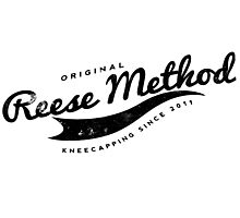 Person of Interest - Original Reese Method of Kneecapping (black lettering) Photographic Print