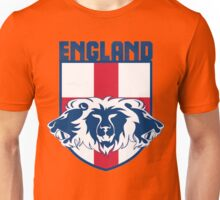 England Three Lions Roar Red Unisex T-Shirt