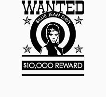 Billie Jean WANTED Womens Fitted T-Shirt