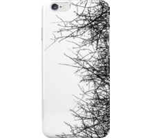 Dry bush iPhone Case/Skin