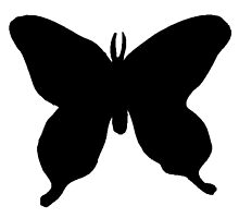 Butterfly Silhouette by kwg2200