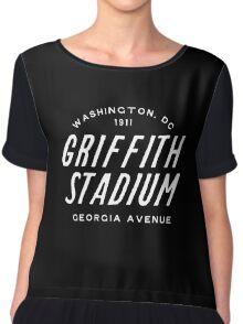 Griffith Stadium  Washington Chiffon Top