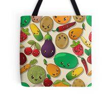 Seamless kawaii pattern Tote Bag