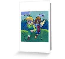 wind waker 4 2 refined... Greeting Card