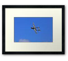 Vampire jet Framed Print