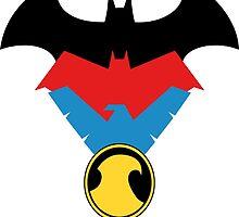 Batfamily  by RedHoodArt