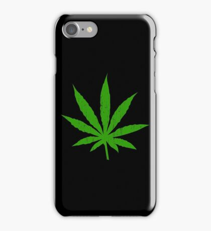 Marijuana Leaf iPhone Case/Skin