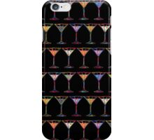 Cocktails background iPhone Case/Skin