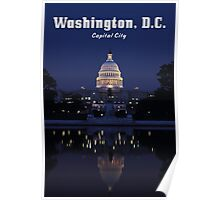 WASHINGTON, DC: Capital City Poster