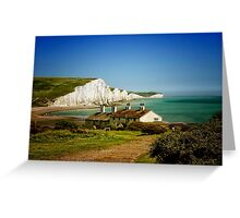 Seven Sisters, Sussex Greeting Card