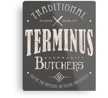 Terminus Butchers (light) Metal Print