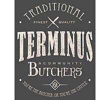 Terminus Butchers (light) Photographic Print
