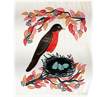 Robin's Nest by Andrea Lauren  Poster
