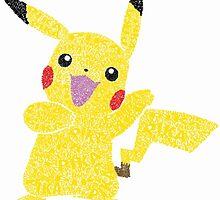 Pikachu by Georgia Marie Naylor