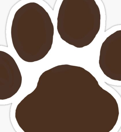 Dog Paw Print(s) Sticker