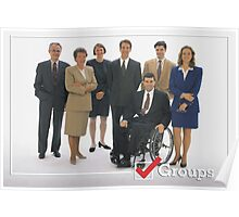 GROUPS: Office  Poster