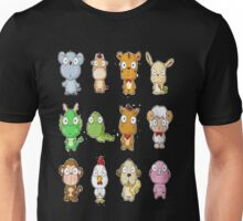 12 animals Unisex T-Shirt