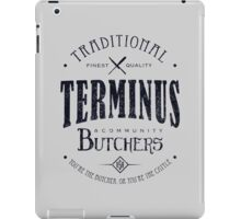 Terminus Butchers (dark) iPad Case/Skin