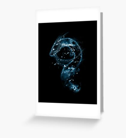 haku nebula Greeting Card