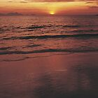 LEISURE! Ocean Sunset by TOP Posters & Prints