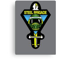 Steel Brigade Canvas Print