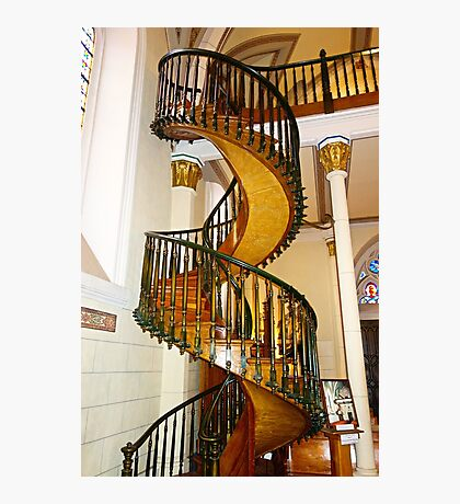 Loretto Chapel Staircase  Photographic Print