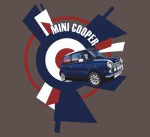 Classic Mini Cooper Illustrated T-shirt T-Shirt