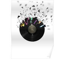 Shattered Vinyl Poster