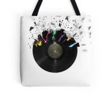 Shattered Vinyl Tote Bag