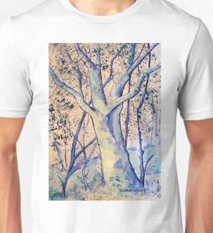 Blue trees Unisex T-Shirt