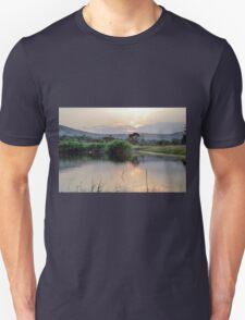 landscape african  lake Unisex T-Shirt