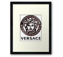 versace Framed Print
