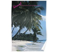 LEISURE! Tropical Beach Poster