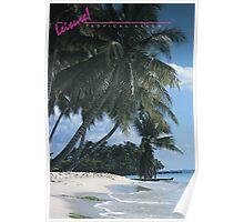 LEISURE! Tropical Beach Poster