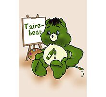 Taire Bear Photographic Print