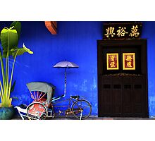 The Cheong Fatt Tze Mansion's Front Entrance Photographic Print