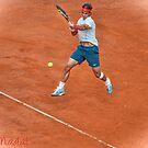 Rafael Nadal - Rome by Roberto Bettacchi