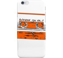 Guardians of the Galaxy: Awesome Mix iPhone Case/Skin
