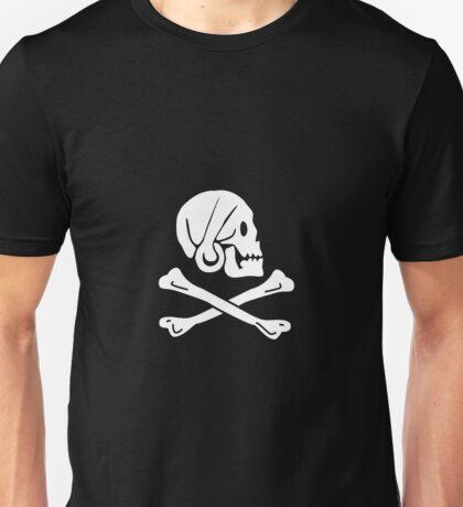 Pirate Flag Skull and Crossbones Jolly Roger Unisex T-Shirt