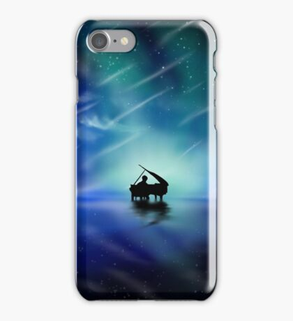 THE LONELY PIANIST iPhone Case/Skin