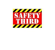 Safety third Photographic Print