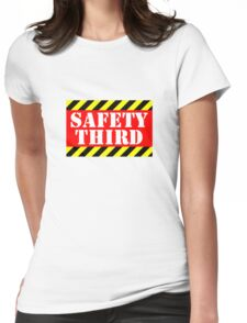 Safety third Womens Fitted T-Shirt