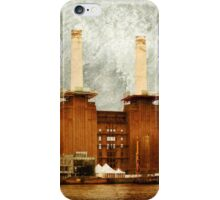 The Battersea Power Station - London iPhone Case/Skin